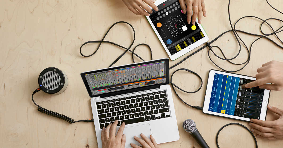 Ableton Link Ipad And External Equipment Alltogether Gpr Music Project