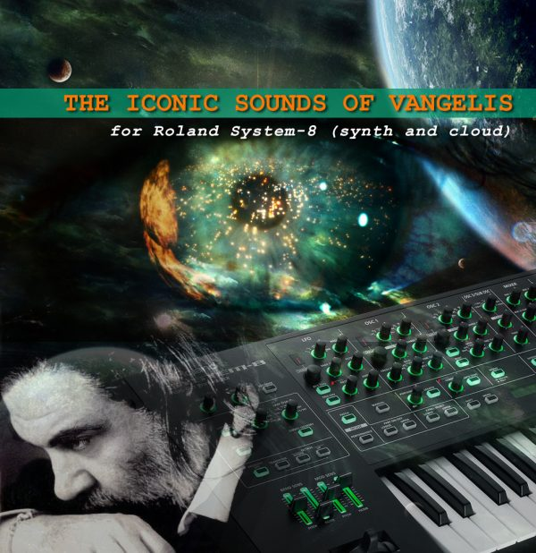 The iconic sounds of Vangelis for Roland System-8 (Synth and Cloud)